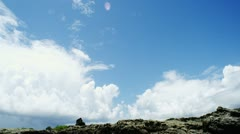 clouds timelapse 02 - stock footage