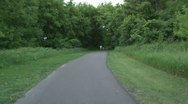 Walking Trail Stock Footage