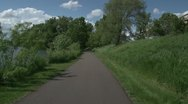 Bike Trail Stock Footage