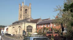 St Mary's Church, Henley on Thames Stock Footage