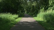 Bike Trail Stock Footage