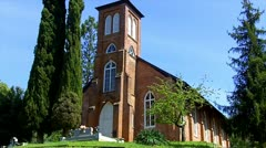 Stock Video Footage of St. Anne's Church- Columbia State Historic Park 3