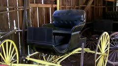 Old West Buggy- Columbia State Historical Park Stock Footage