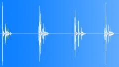 Wooden piece falling Sound Effect