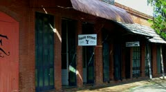 Old West Drug Store- Columbia State Historical Park Stock Footage