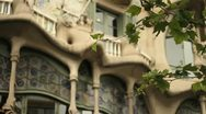 Stock Video Footage of Casa Battlo, Barcelona
