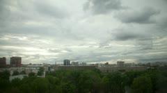 Urban sky Time Lapse Stock Footage