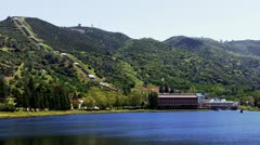 Moccasin Hydroelectric Plant Wide Stock Footage