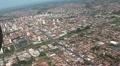 Brazil Aerial View. Brazilian city. Sao Paulo state, Bauru city.  Footage