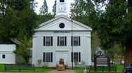 Stock Video Footage of Old West Mariposa County Courthouse 7