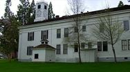Stock Video Footage of Old West Mariposa County Courthouse 9
