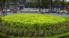 hanoi vietnam viet nam ho chi minh city grounds of reunification palace forme - stock footage