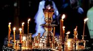 Stock Video Footage of Orthodox believers
