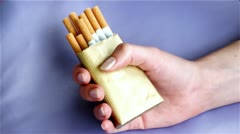 Smoking or health Stock Footage