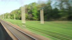 Movement by rail Stock Footage