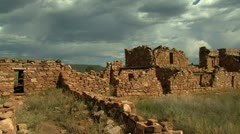 Native American Indian Ruins Arizona Stock Footage