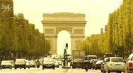 "Stock Video Footage of Some scenes of daily Paris,  ""Champs-Elysees"""