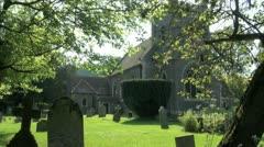 St Nicholas Church at Remenham Stock Footage