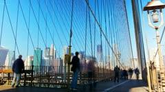 Brooklyn Bridge - stock footage