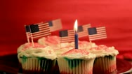 Happy Birthday America Stock Footage