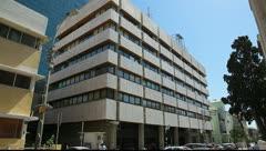 Israel Tel Aviv Stock Exchange TASE Stock Footage