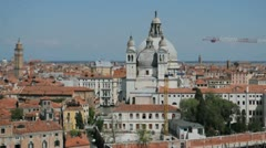 Entering Venice Italy Stock Footage