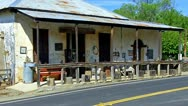 Stock Video Footage of Roadside Antique Dealer- Bear Valley, CA 1