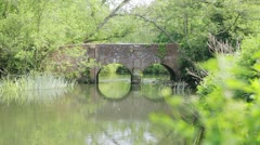 River Bridge - stock footage