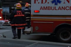 Firemen, Paramedics, Police Officers, Disaster, Emergency,  Archival Footage Stock Footage