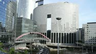 Stock Video Footage of Some scenes of daily Paris, La Defense