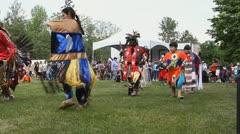 Canadian Pow Wow Stock Footage