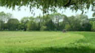 Mowing Meadow Stock Footage