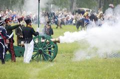 borodino battle - stock photo