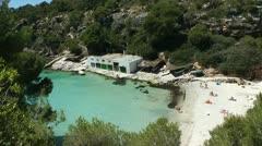 Cala Pi, Mallorca (Majorca) Stock Footage