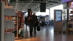Helsinki Vantaa Airport 10 Stock Footage