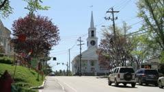 Damariscotta, Maine - stock footage