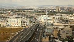 Checkpost intersection Haifa Israel Stock Footage