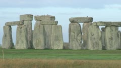 Stonehenge Rock Formation - stock footage