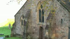 Church by the Sea Stock Footage
