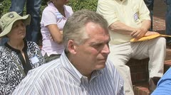 Terry McAuliffe Stock Footage