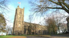 Lancaster Priory Stock Footage