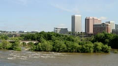 Richmond James River Stock Footage