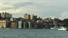 North Sydney view 05 Stock Footage