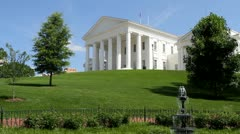 Stock Video Footage of Virginia Capitol Building