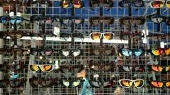 Sunglasses - stock footage