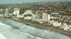 Aerial of Umhlanga Rocks, Durban Stock Footage