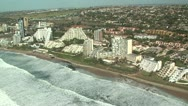 Aerial of Umhlanga Rocks, Durban Stock Footage