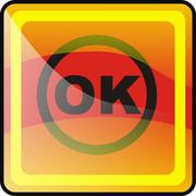 OkButton.jpg - stock illustration