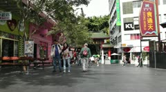 Stock Video Footage of Sydney Chinatown 01