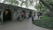 Stock Video Footage of Stock Footage - San Antonio Texas - Alamo - Interior - Barracks